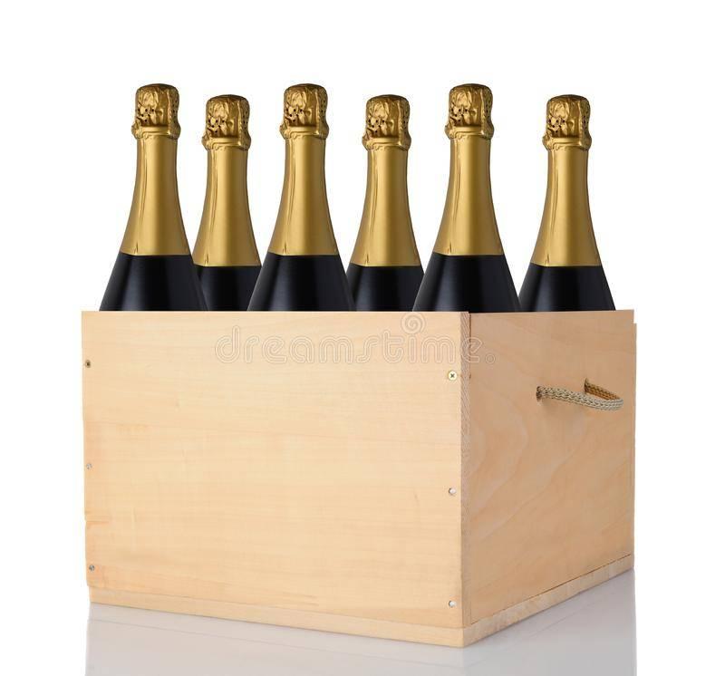 Сколько бутылок в ящике шампанского: боско, санто стефано, в коробке, от чего зависит количество в ящике