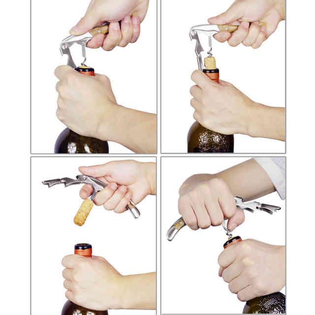 Как открыть бутылку вина подручными средствами