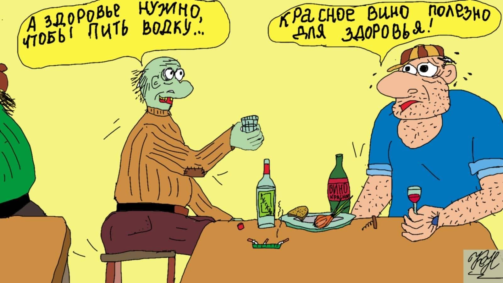 Тахикардия после употребления алкоголя