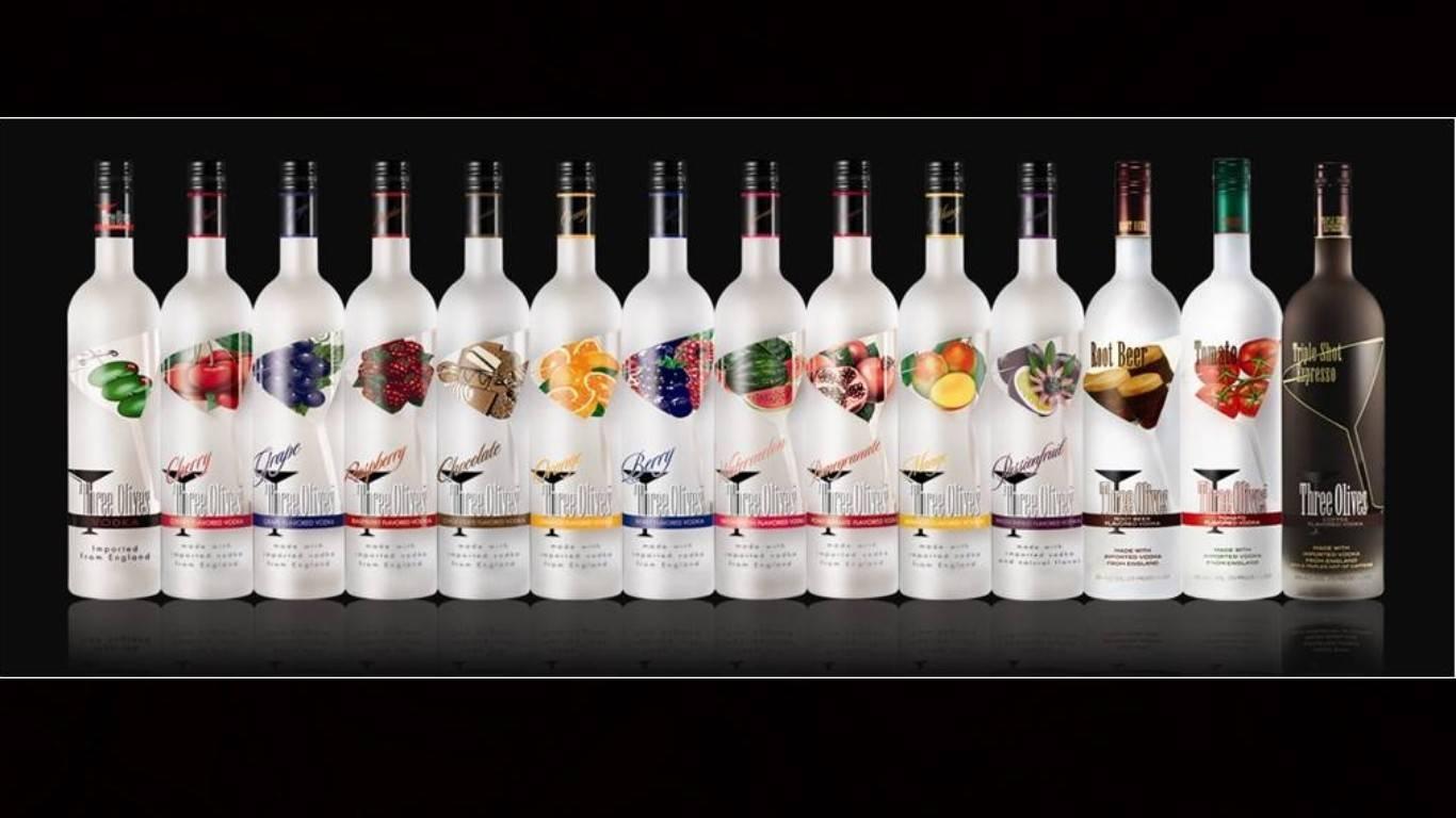 Классификация спиртов, которые используются для производства водки