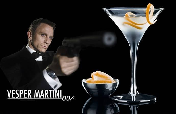 10 коктейлей джеймса бонда: что пил «главный» британский шпион - международная платформа для барменов inshaker