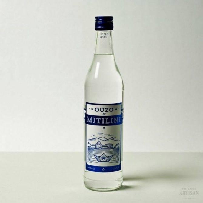 Греческая водка узо - особенности, состав, рецепты коктейлей