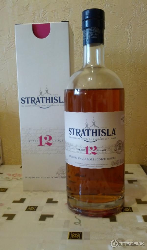 Виски strathisla 12 years old: обзор