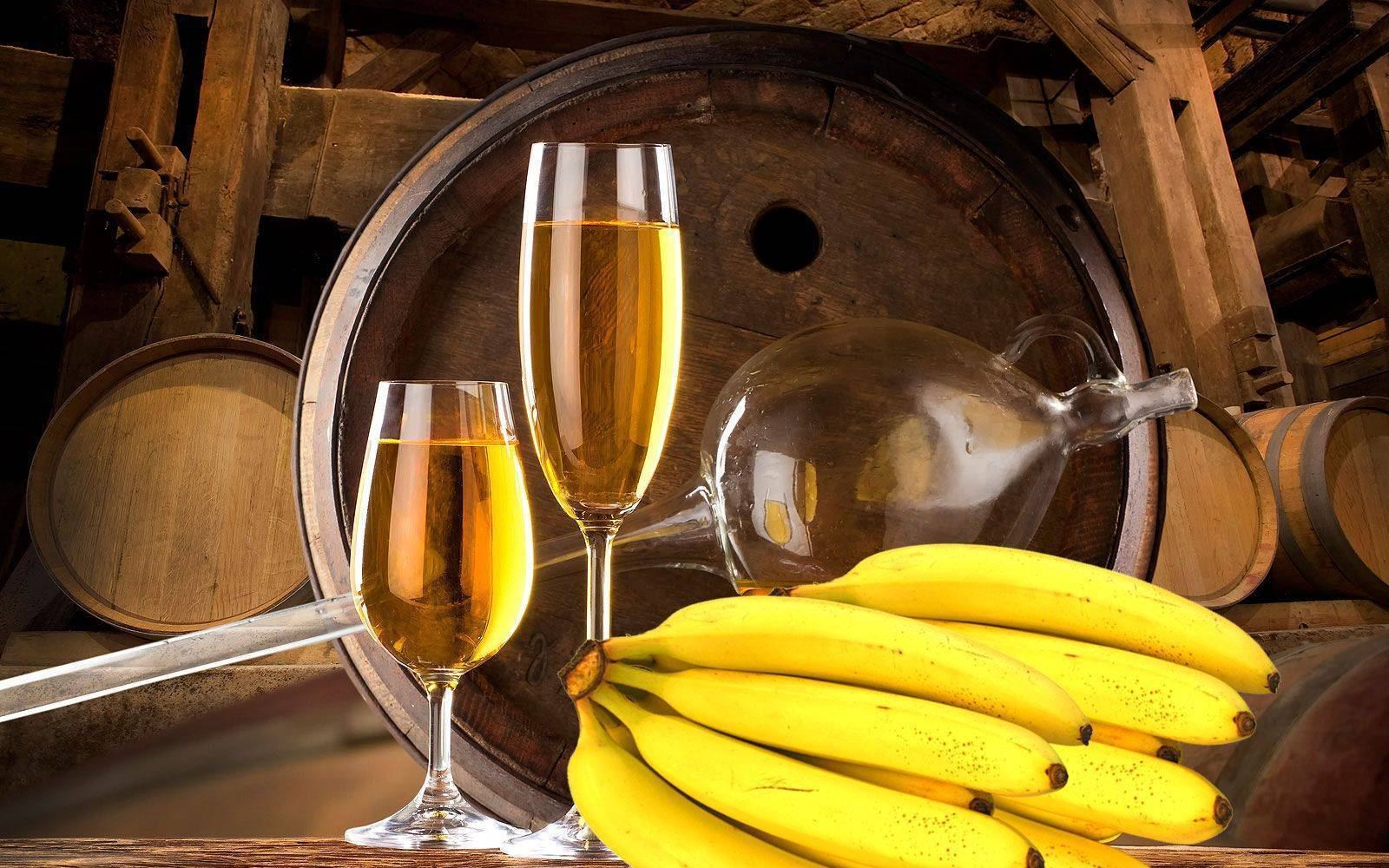 Простой самогон из бананов