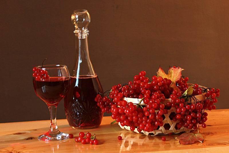 Вино из красной рябины — терпкая сладость