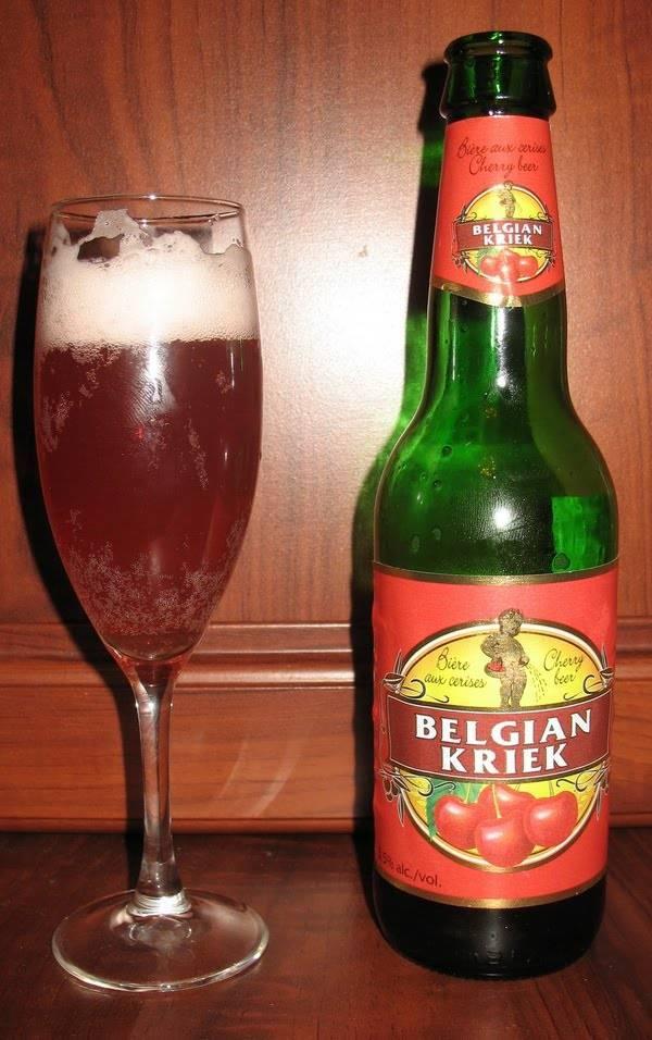 Вишневое пиво состав и особенности производства бельгийского крика, как и с чем правильно пить напиток