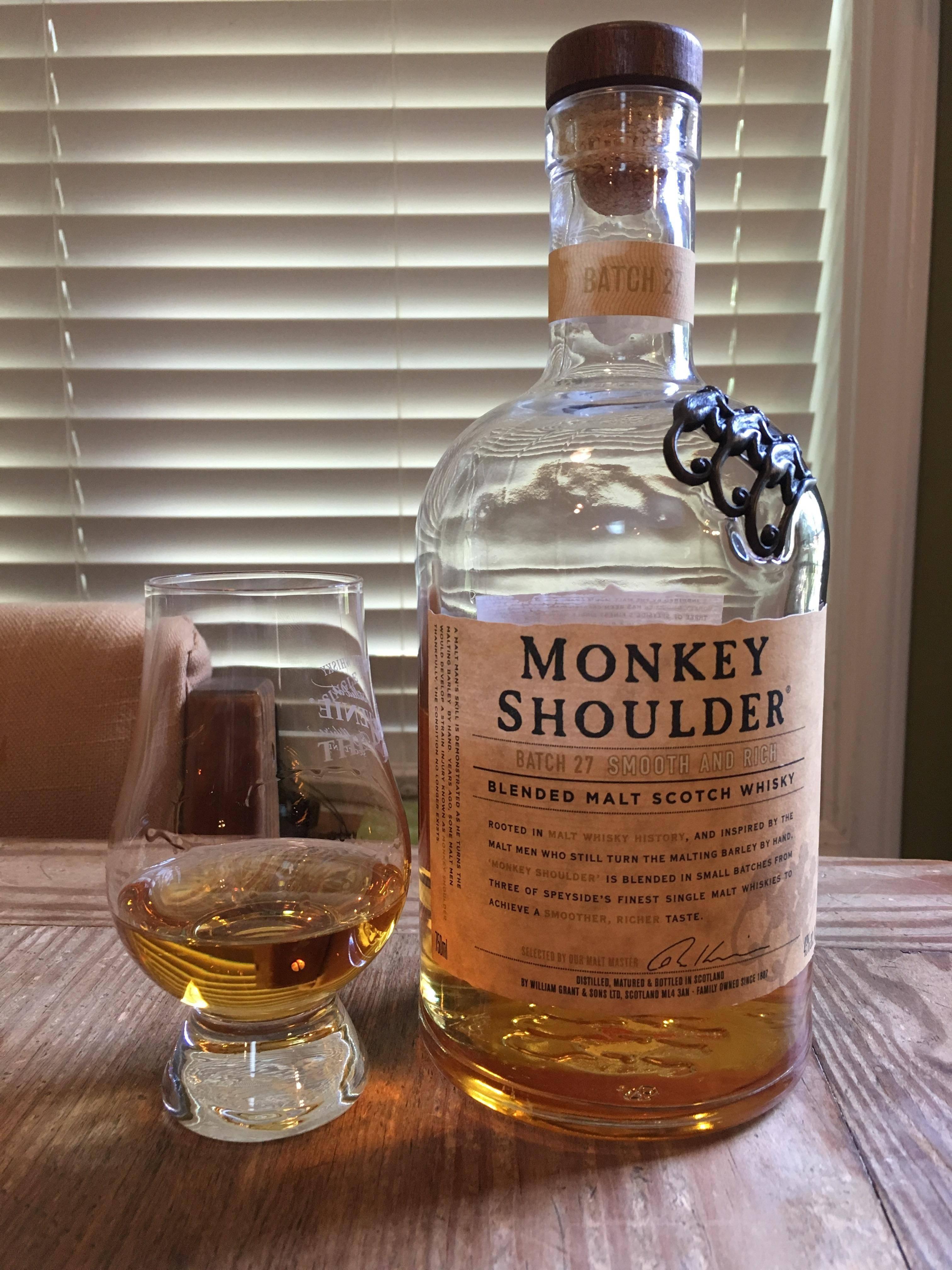 Виски «monkey shoulder»: характеристики, история происхождения и цена