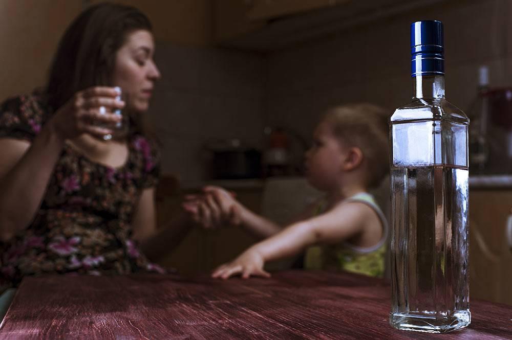 Алкоголизм у детей