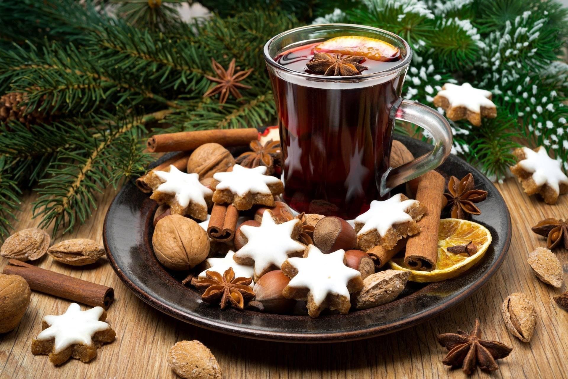 Рождественские напитки с алкоголем: топ-5 популярных рецептов
