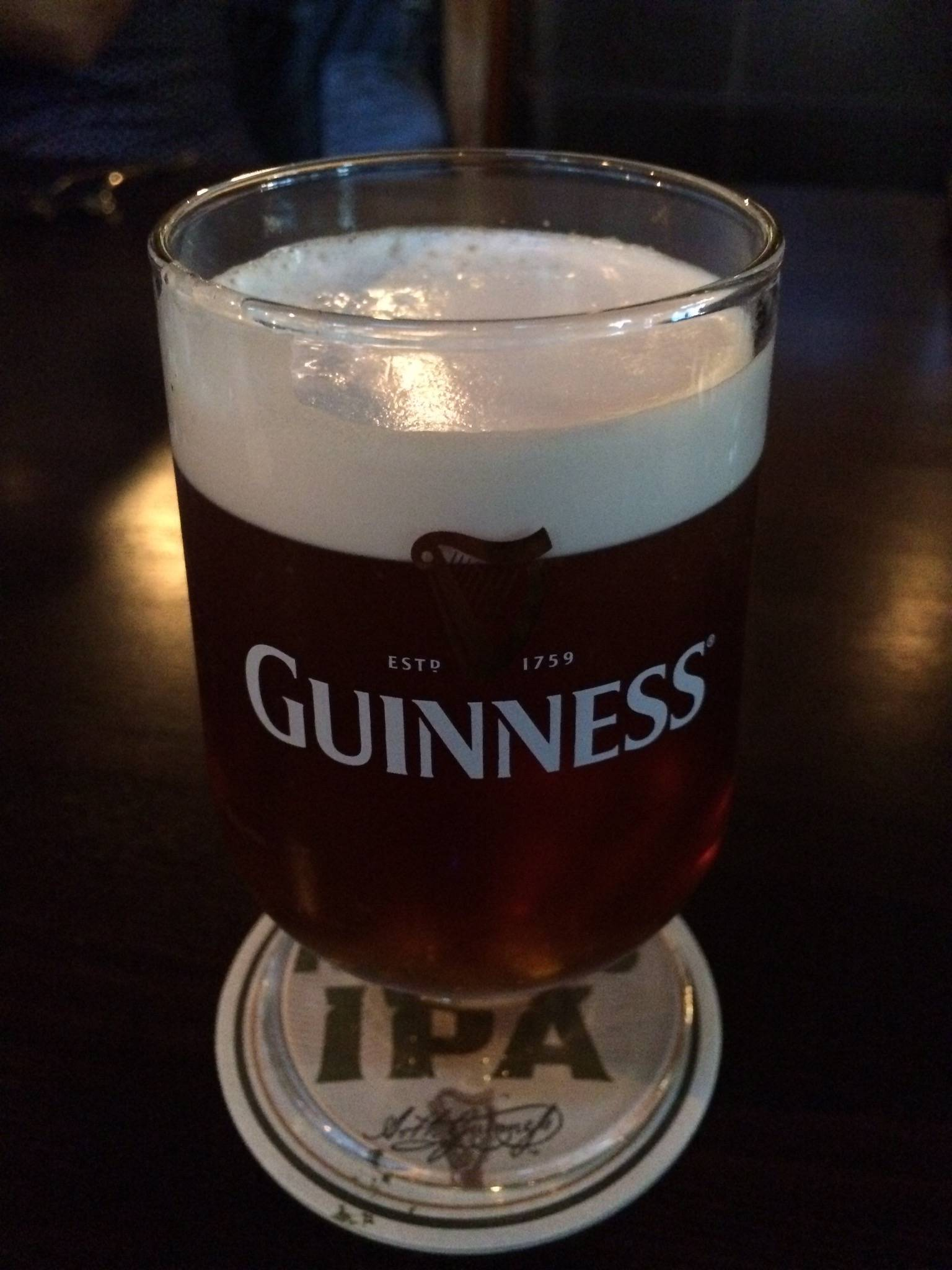 Обзор пива гиннес нитро ипа