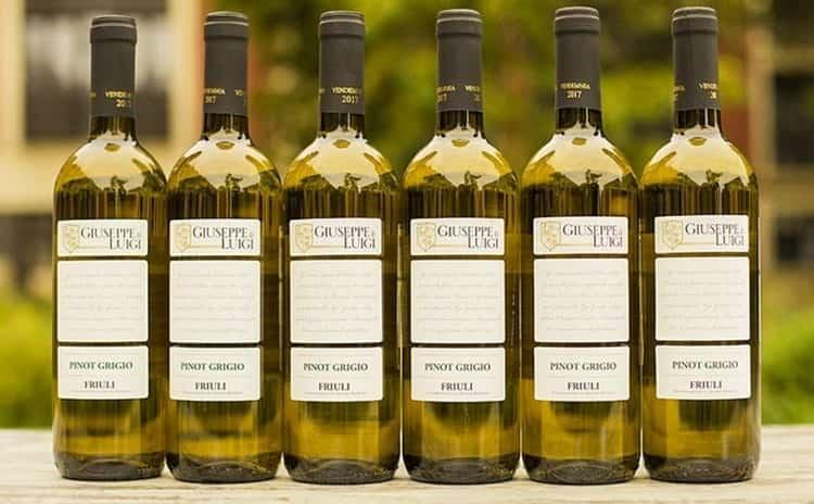 Вино пино гриджио (pinot grigio): описание, история, сорта винограда и правила употребления знаменитого итальянского напитка родом из франции   mosspravki.ru
