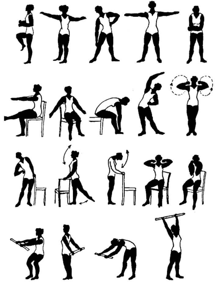 Комплекс лечебной гимнастики по пиелонефриту