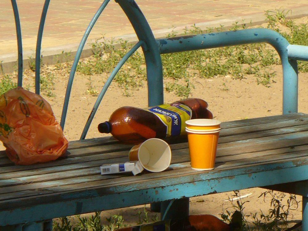 Ответственность за употребление алкоголя в общественных местах