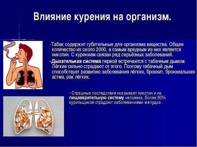 Курение женщин: влияние на организм и потомство