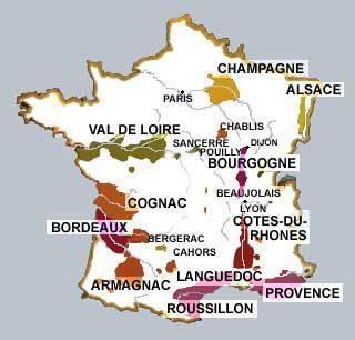 Вина франции - подробно об их классификации, названиях и известных французских шедеврах виноделия - на сайте наливай-ка!