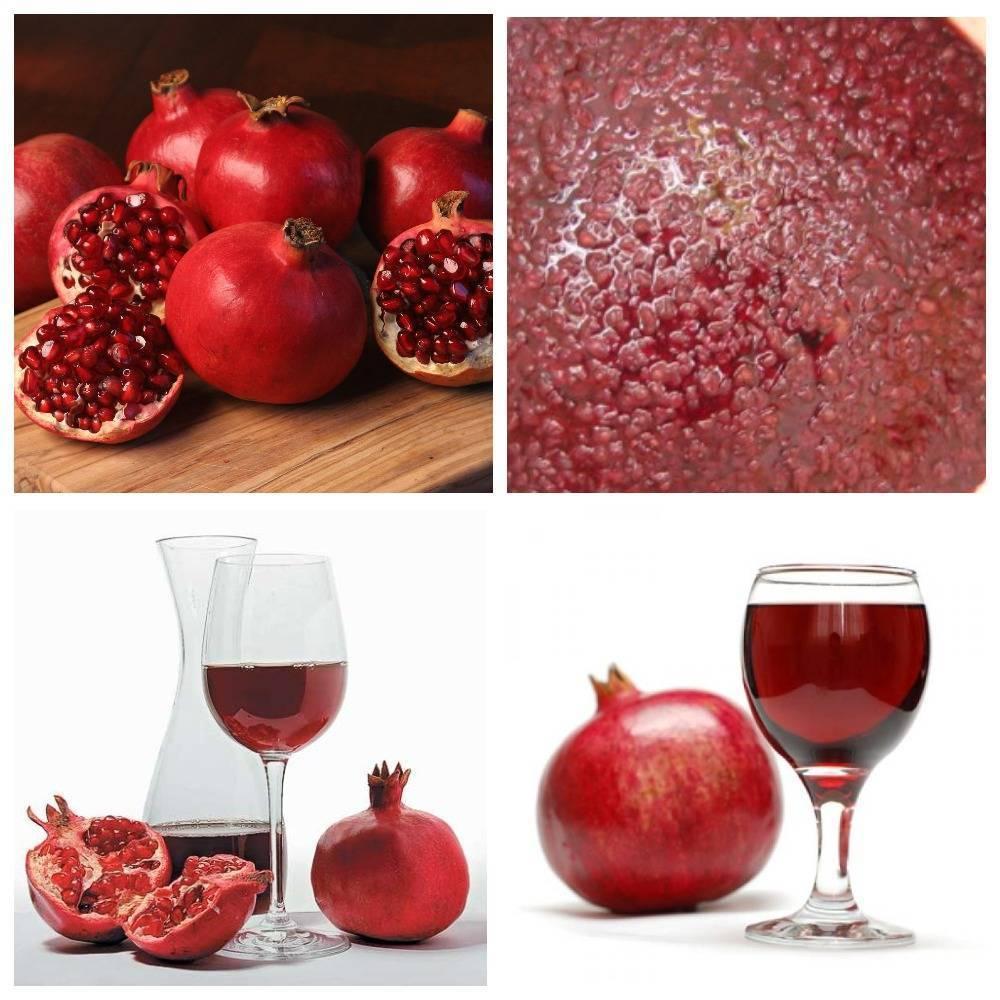 Гранатовое вино- обзор изысканного продукта