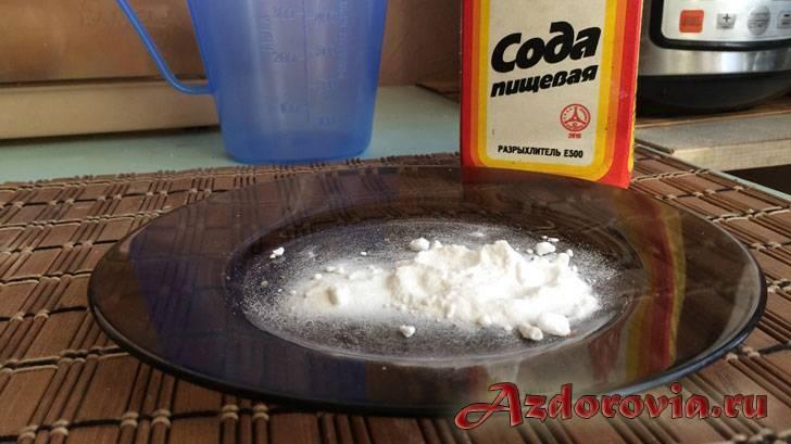 Сода от похмелья, алкоголизма, перегара