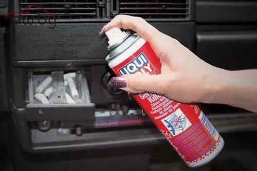 Как избавиться от запаха сигарет в машине?