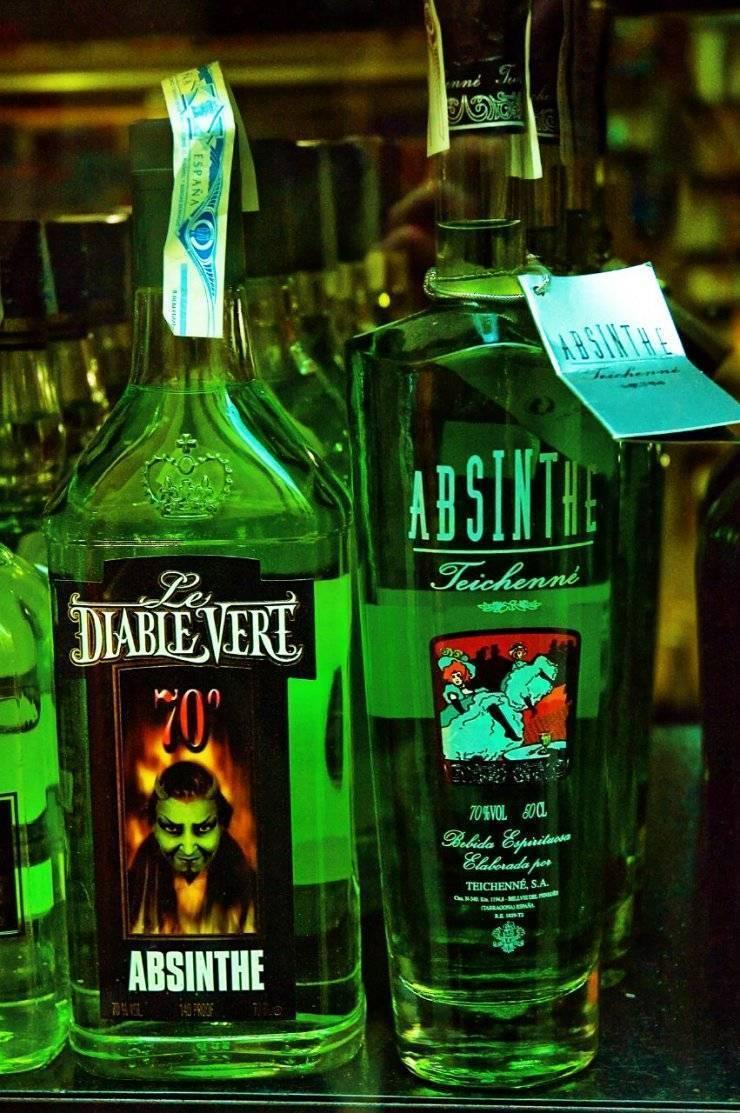 Абсент: что это за напиток