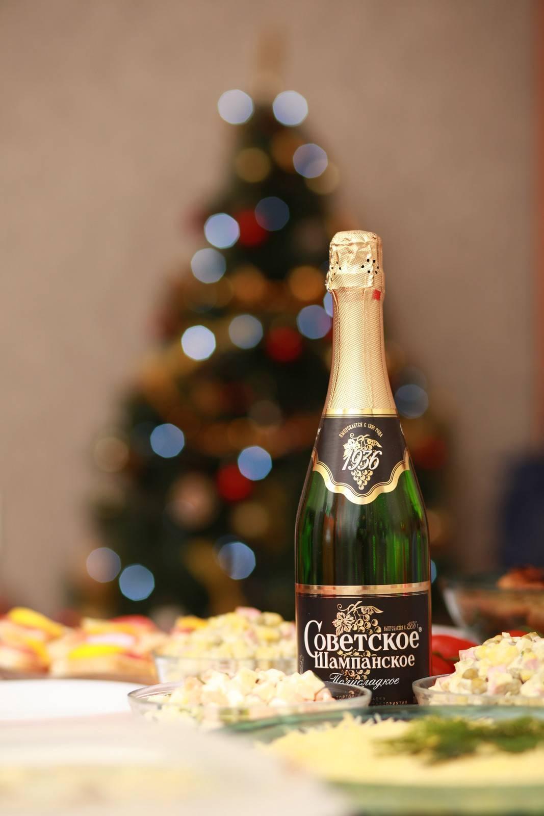 Советское шампанское: состав, виды, полезные свойства и вред