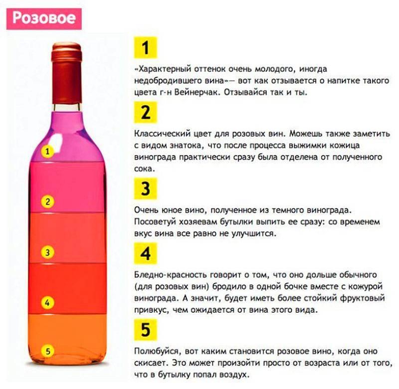 Как правильно выбрать розовое вино?