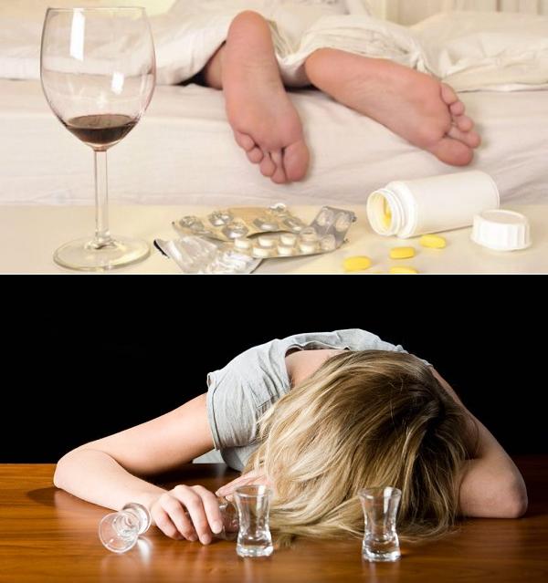 Как убрать отечность с лица и опухоль после пьянки?