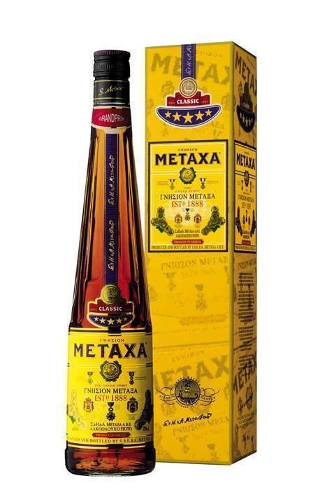 Метакса – шелковый бренди из греции
