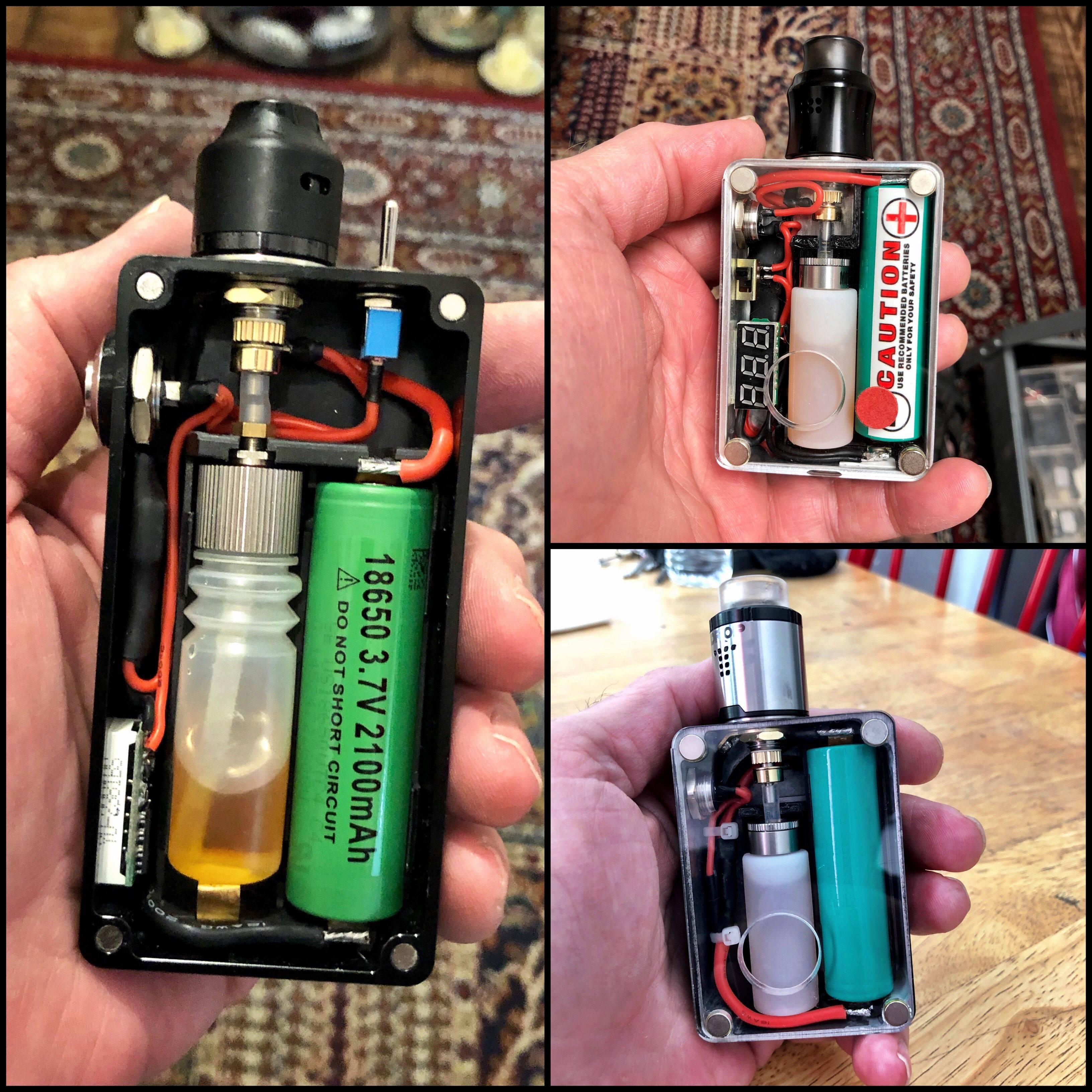 Механические моды для электронных сигарет