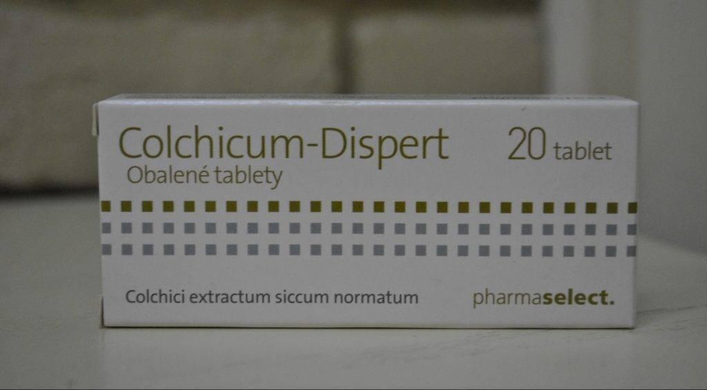 Колхицин при подагре как принимать лекарство при обострении
