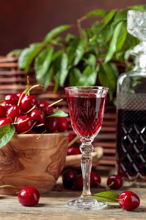 Рецепт вишневого ликера