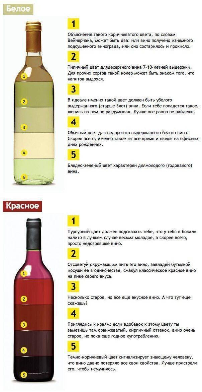 Отличие вина от винного напитка