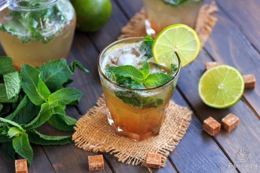 Коктейль махито безалкогольный рецепт с фото пошагово - 1000.menu