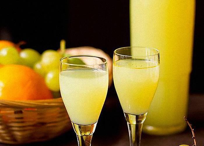 Готовим лимонный ликёр в домашних условиях