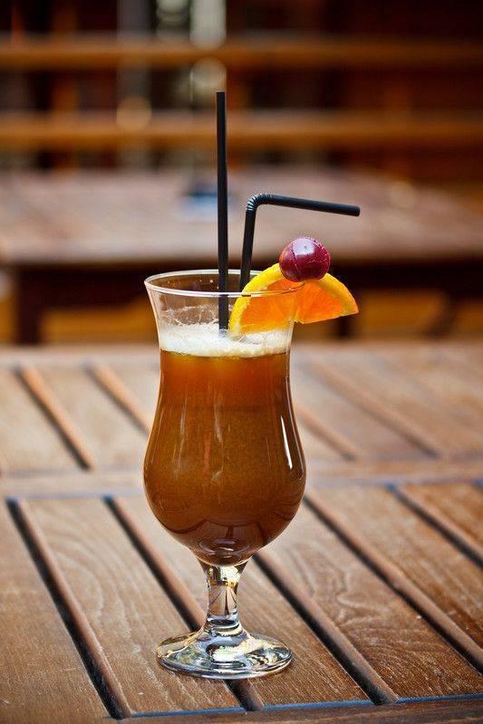 Настойка кофейных зерен и кофе с апельсином