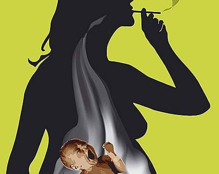 Курение электронных сигарет во время беременности