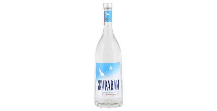 За что нравится людям водка «журавли»?
