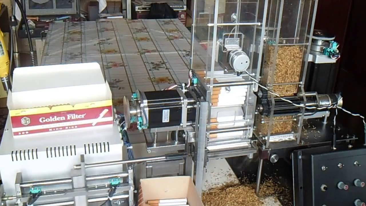 Мини-завод по производству сигарет - нет заразе