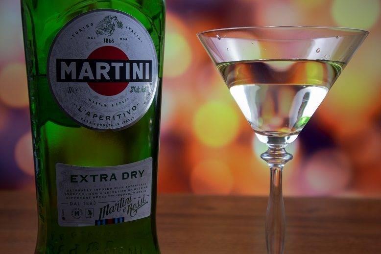 Как правильно пить вермут мартини бьянко?