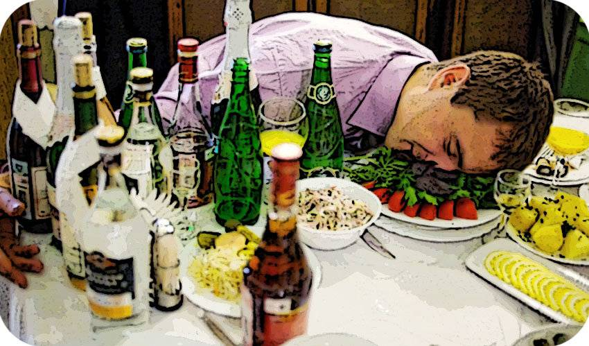 Что съесть перед пьянкой чтобы не опьянеть