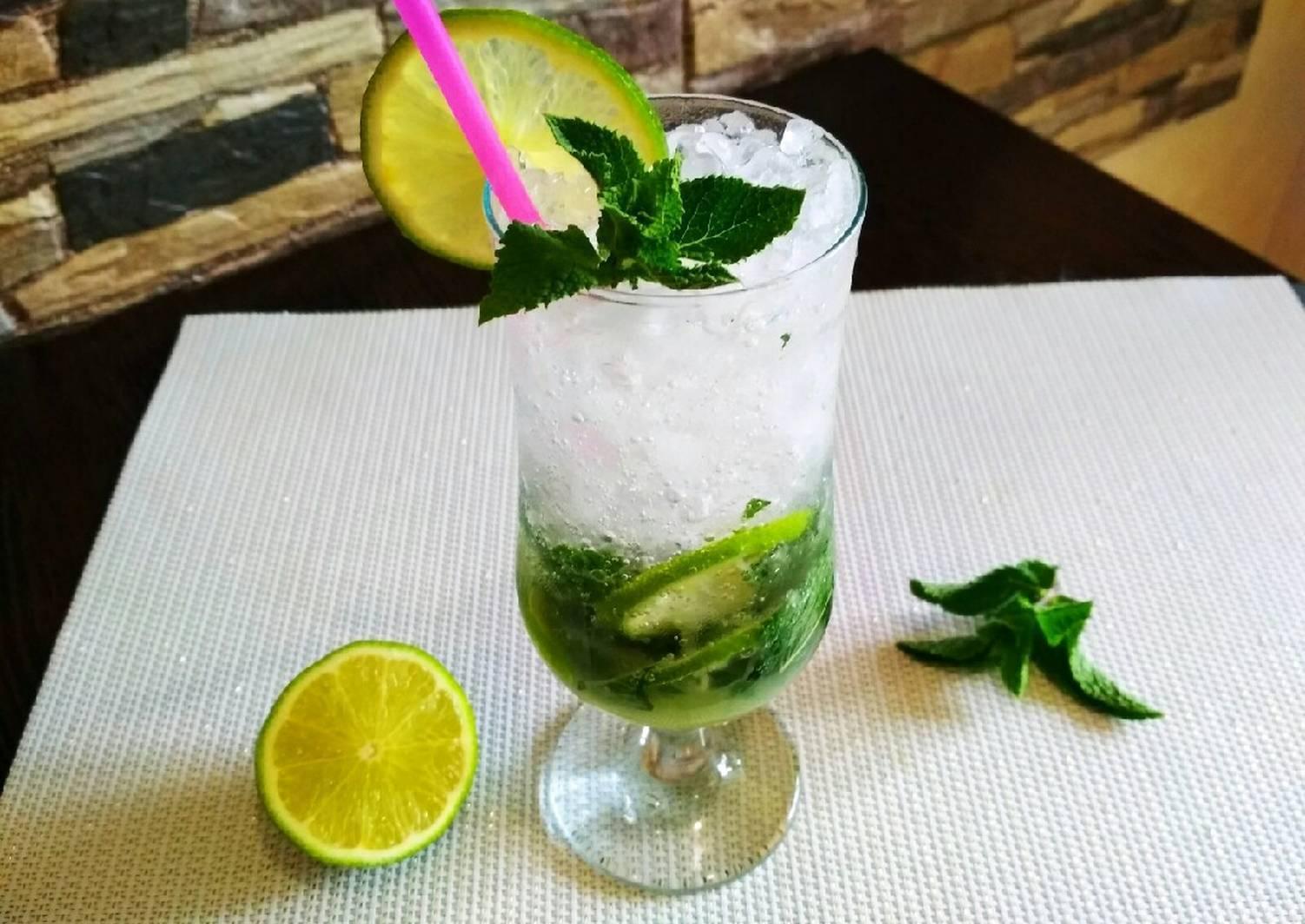 Как сделать мохито безалкогольный в домашних условиях, 5 рецептов приготовления коктейля