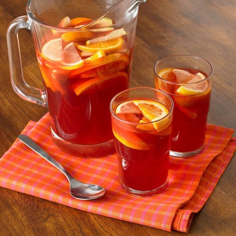 Пунш – состав напитка; рецепты, как приготовить в домашних условиях