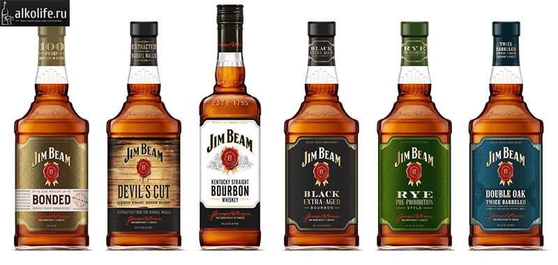 Бурбон jim beam (джим бим): описание как пить, цена, виды и как отличить подделку