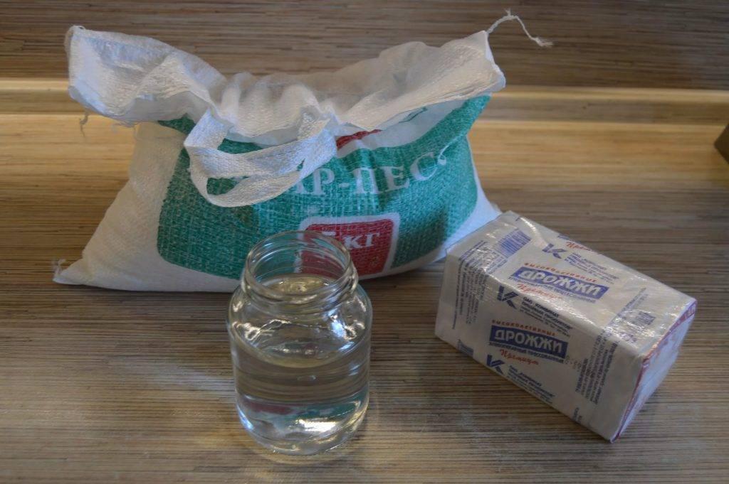 Самогон из сахара и сухих дрожжей