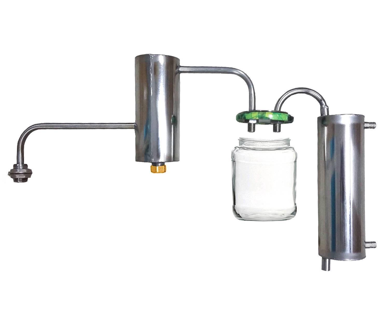 Характеристики самогонного оборудования с сухопарником и барботером