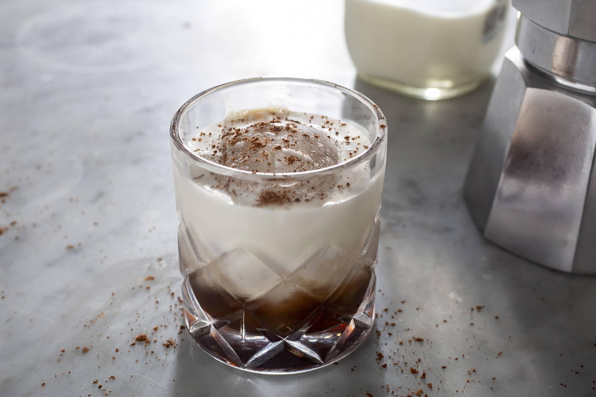 Белый русский коктейль в домашних условиях