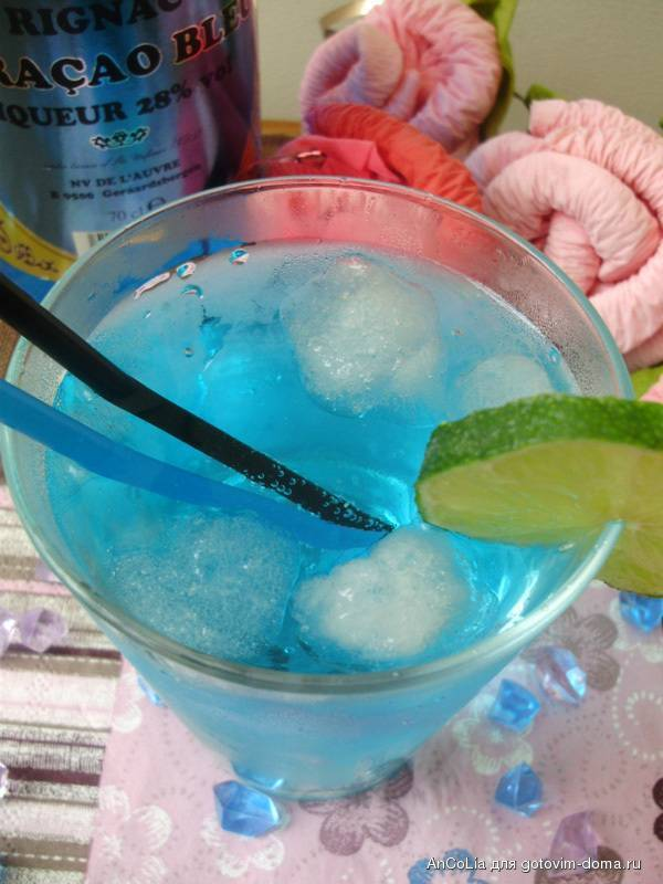 Коктейль голубая лагуна: фото, состав, рецепт приготовления в домашних условиях