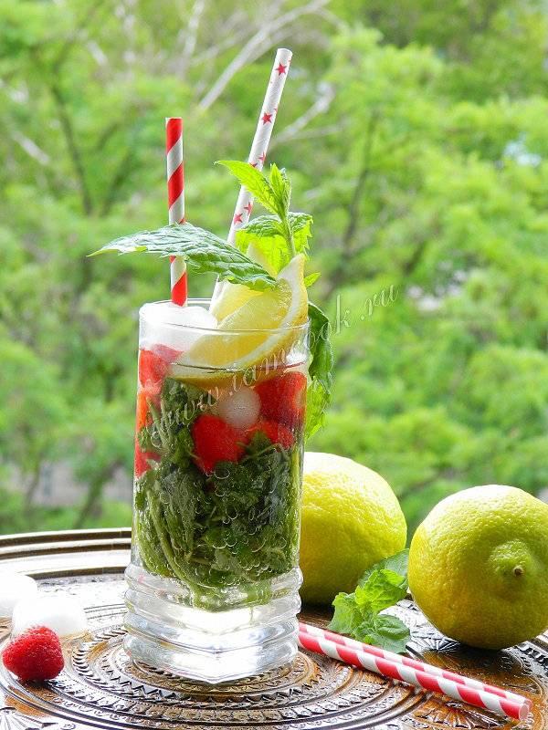 Клубничный мохито – кулинарный рецепт