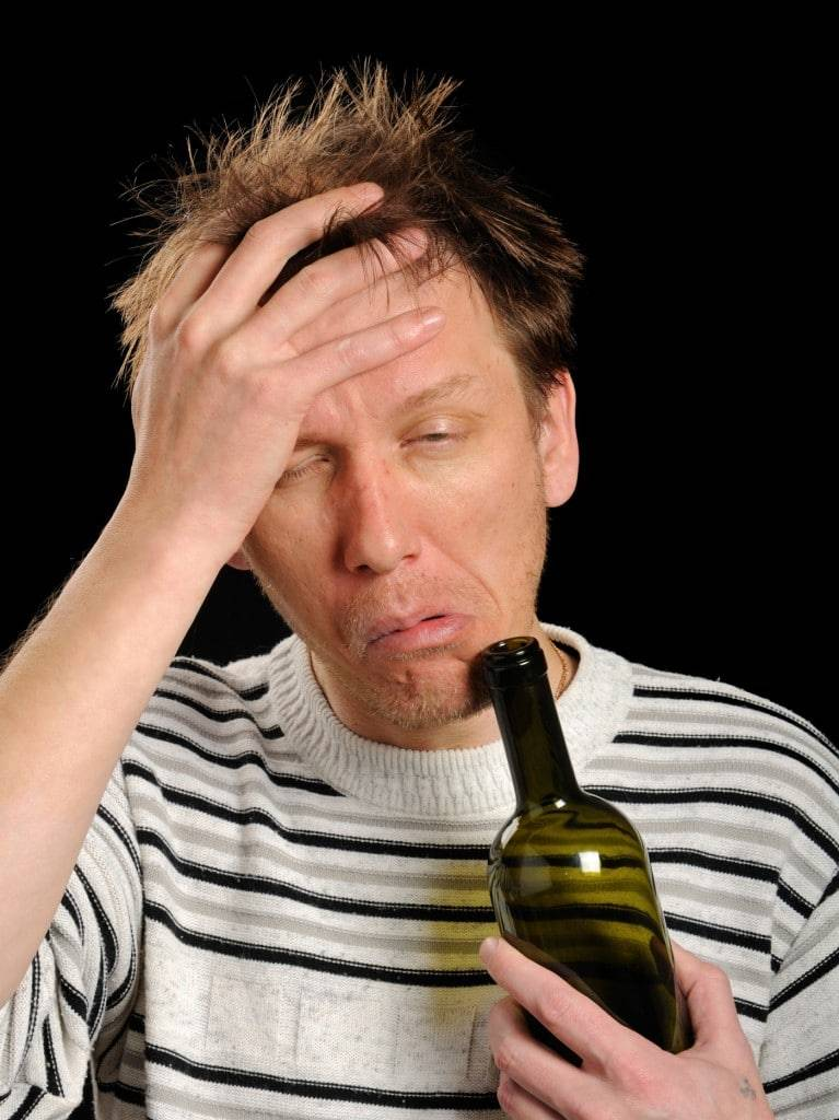Почему после принятия алкоголя болят глаза