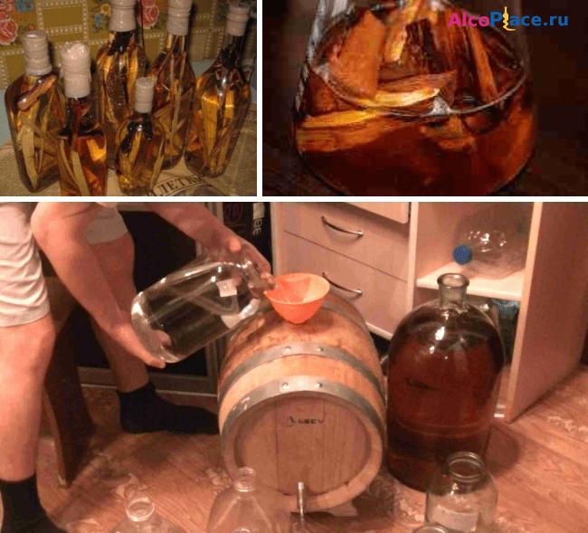 Приготовления виски в домашних условиях: рецепты и технология