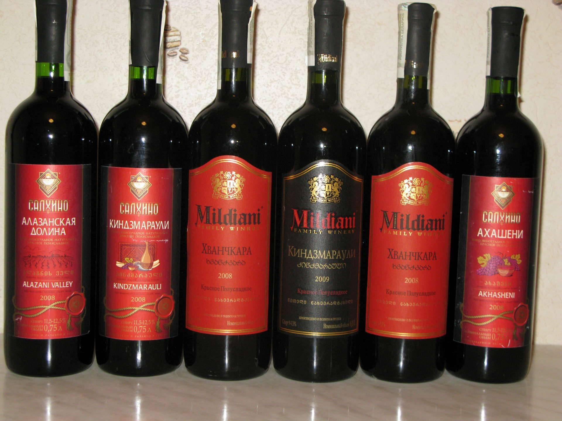 Грузинские вина: список названий популярных сортов из грузии и их описание - классификация